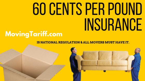 Nationwide moving insurance 60 cents per pound