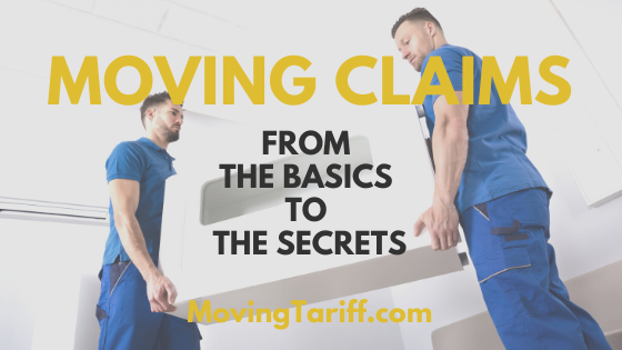Moving claims process